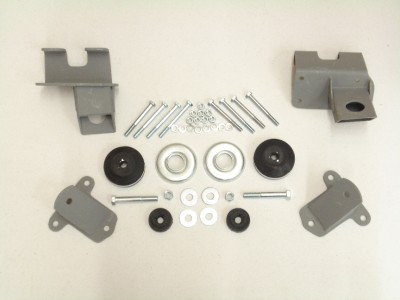 Pinto V8 Conversion Mounts Kits http://www.ebay.com/itm/Engine-Mount-Kit-1941-1942-1946-1947-1948-Chevy-SBC-V8-/360500953357