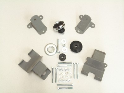 Pinto V8 Conversion Mounts Kits http://www.ebay.com/itm/1936-Chevy-Standard-Engine-Mount-Kit-SBC-V8-Pinto-IFS-/350628205038