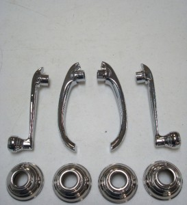 1938  40 Ford Pickup Truck Door Handle Window Crank Kit