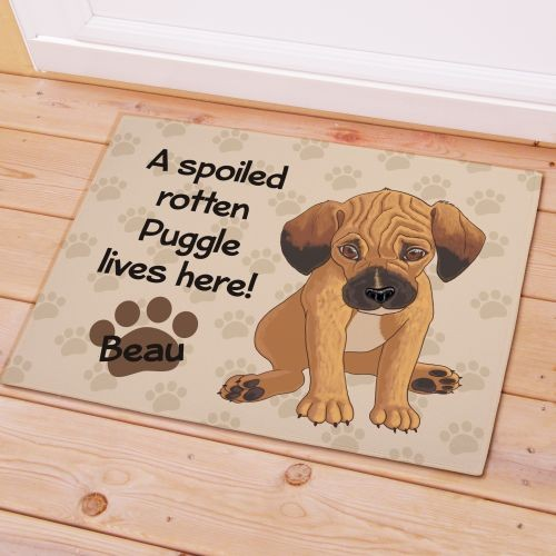 Personalized Let The Spoiling Begin Doormats Image is loading Personalized
