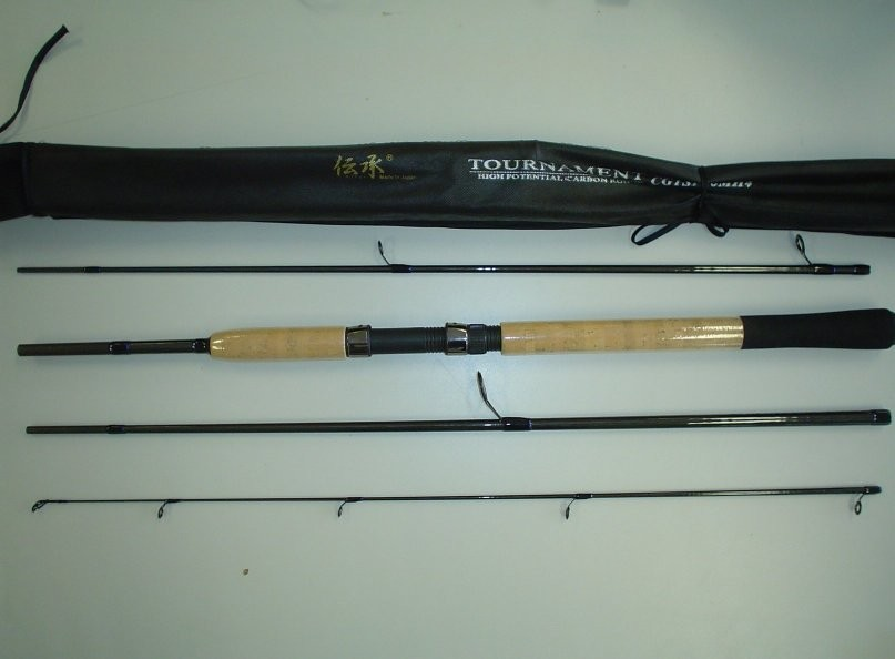 Brand new graphite tournament spinning rod from japan ebay for Fishing pole brands