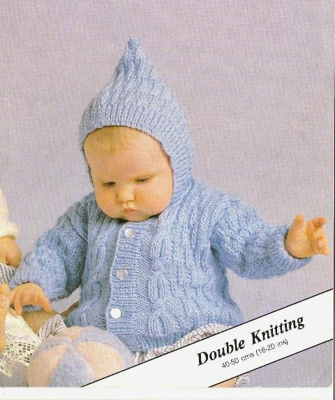 Scarves Knitting Patterns Free : ORIGINAL PETER GREGORY PATTERN: CABLE HOODED JACKET & CARDIGAN - 4 SIZES