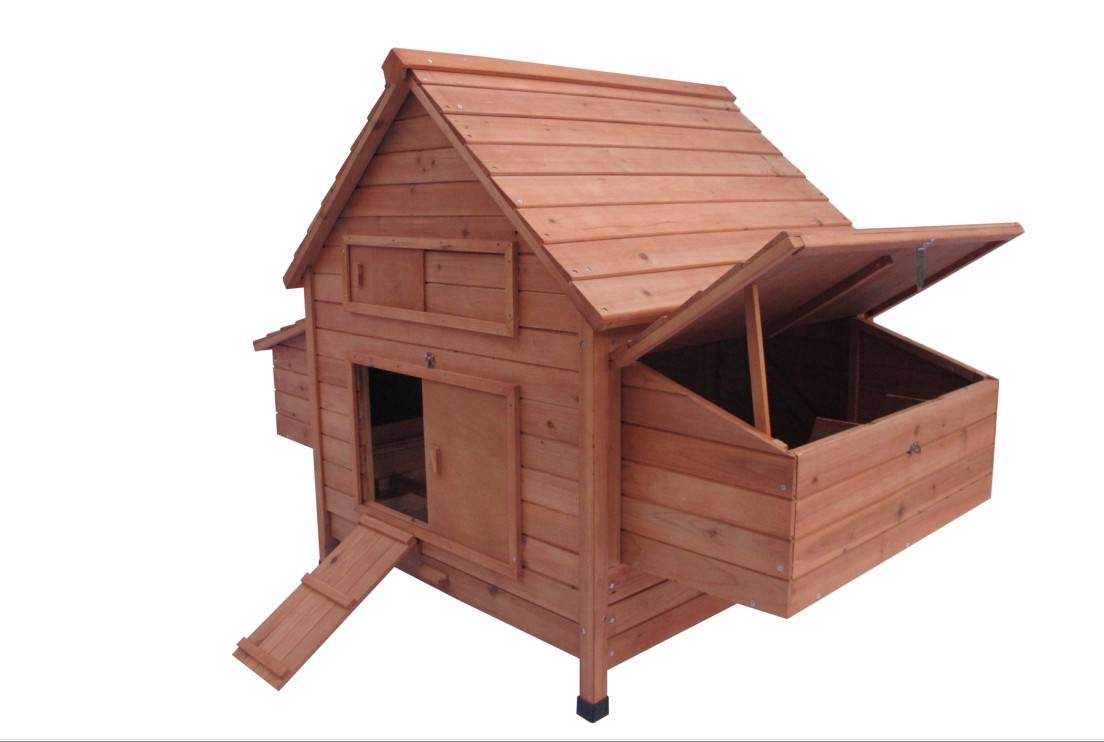 New Large Wood Chicken Coop Backyard Hen House 6 10