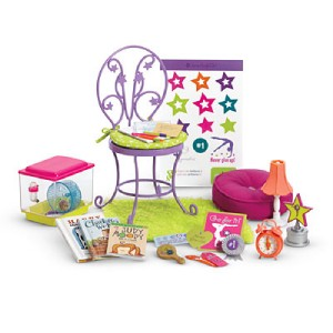 NIB American Girl MCKENNA Loft Bed & Accessories Ready