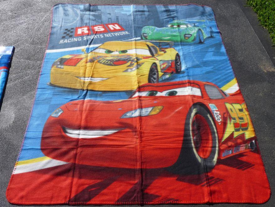 Cars-Polar-Fleece-Throw-Blanket-Brand-New