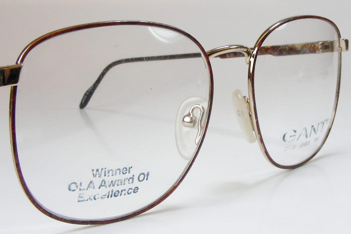 tortoise shell metal retro vintage square eyeglass frame