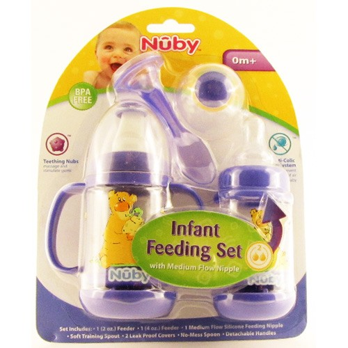 how to use nuby infant feeder