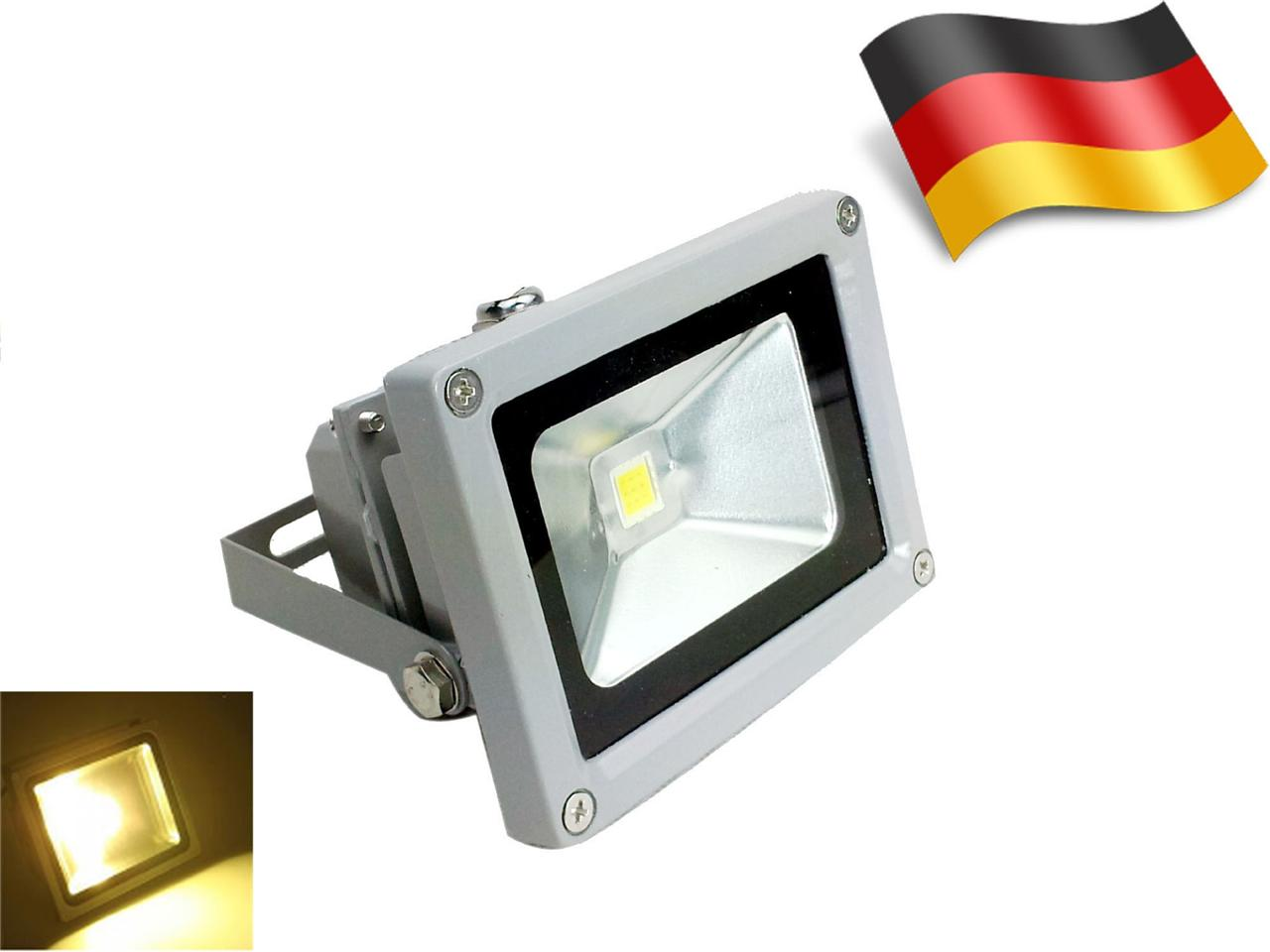 10w 1100lm led fluter strahler scheinwerfer warm kalt wei bulb ip65 au en. Black Bedroom Furniture Sets. Home Design Ideas