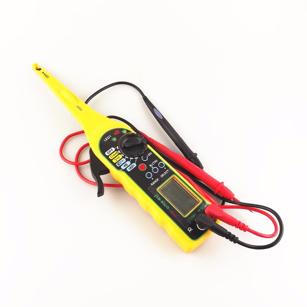 Auto Mobile Circuit Tester : Car auto power electric circuit tester multimeter
