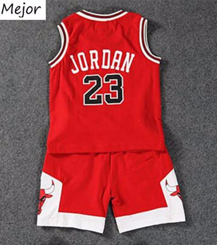sooklu Kids Baby Boys Girls Michael Jordan Bulls Basketball Jerseys Short