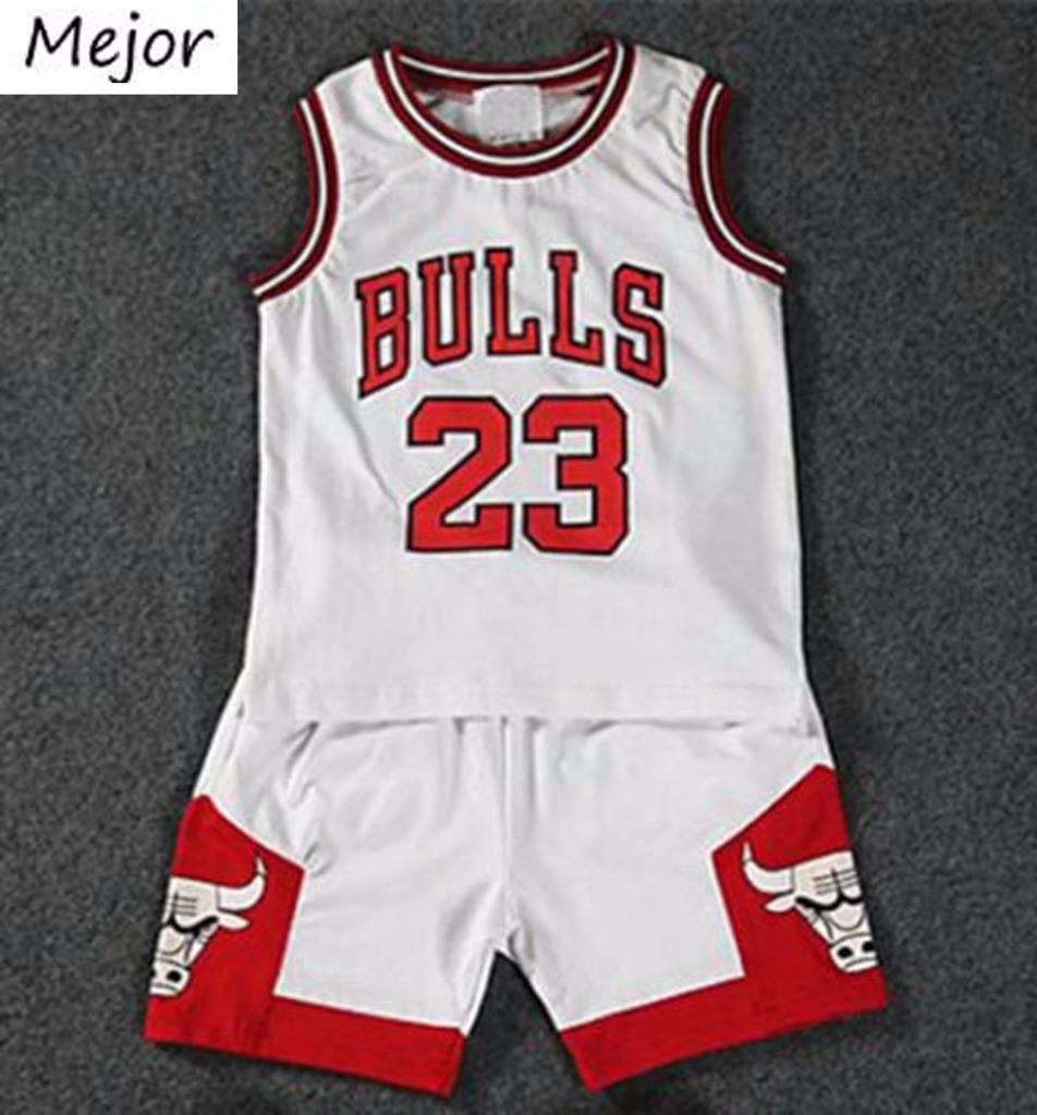 Kids Baby Boys Girls Michael Jordan Bulls Basketball Jerseys Short