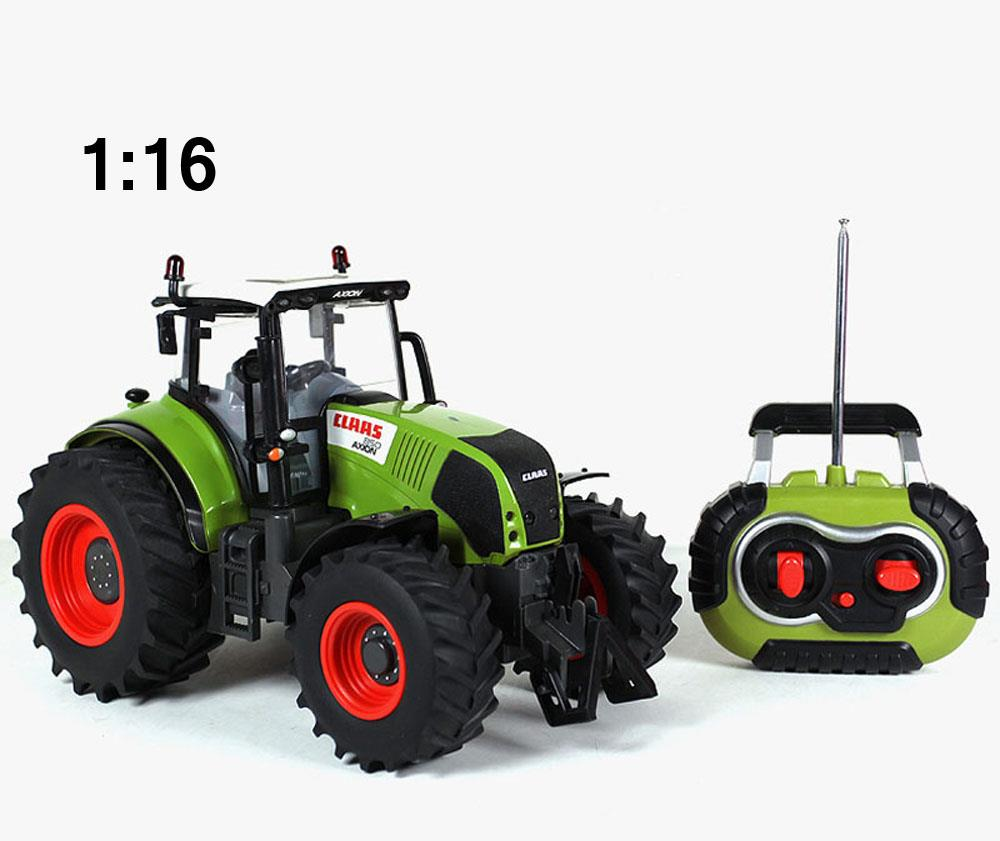 Tractor Toys For Boys : Scale tractor claas large farm remote control
