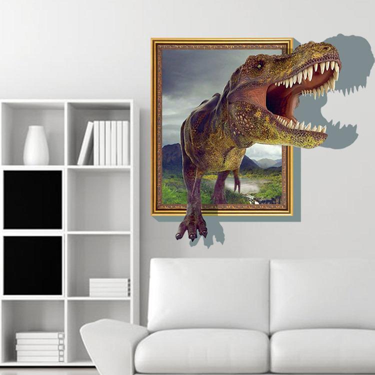 Wandtattoo wandbild wandaufkleber kinderzimmer dinosaurier for Store kinderzimmer