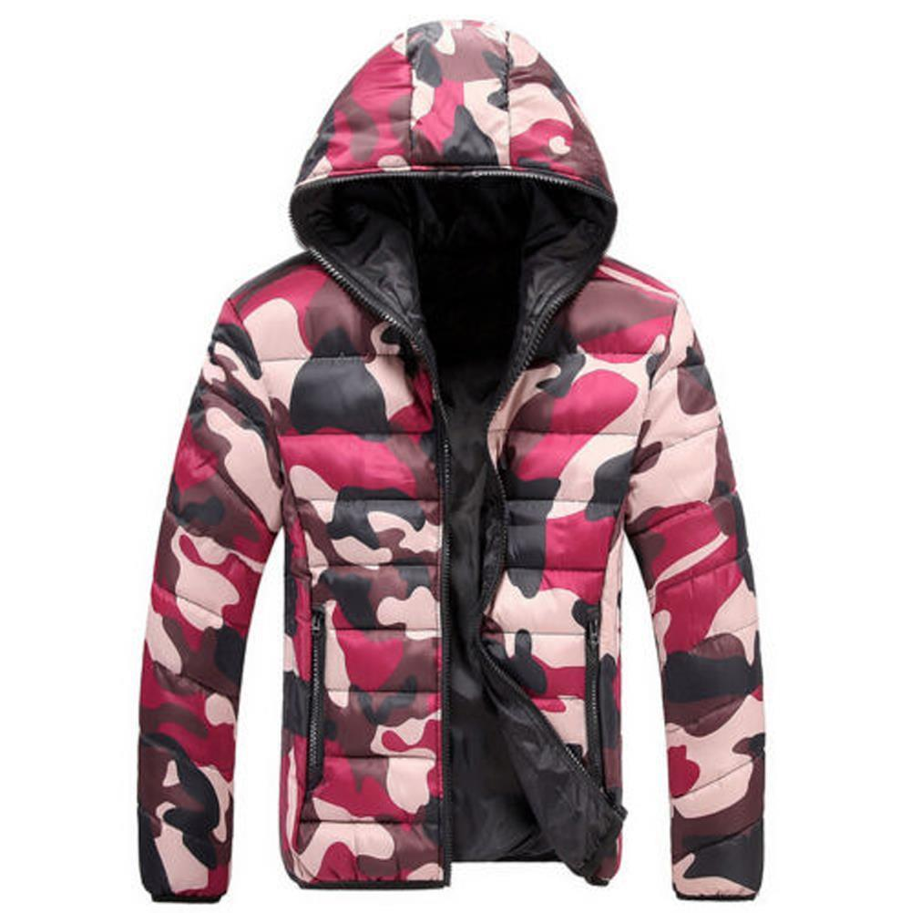 herren camouflage daunenjacke winterjacke wintermantel jacken daunen jacke m 4xl ebay. Black Bedroom Furniture Sets. Home Design Ideas