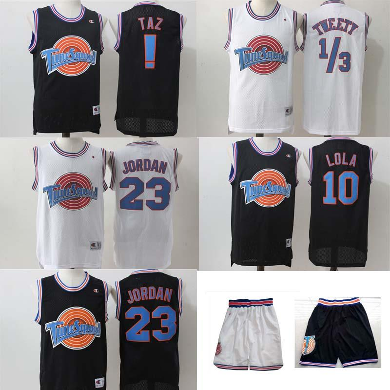 Looney-Toones-Basketball-Jersey-Space-Jam-Jersey-Tune-Squad-NEW-Beste-And-Trikot