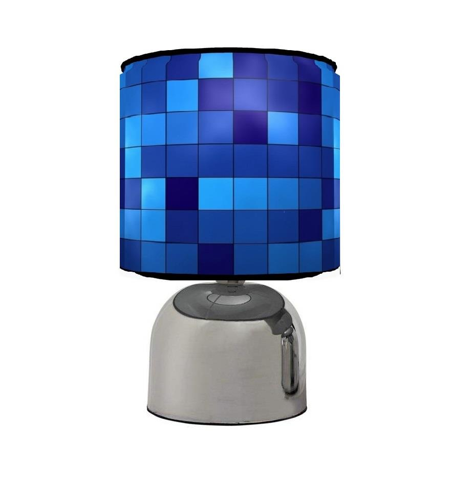 PIXELS TOUCH TABLE BEDSIDE LAMP KIDS ROOM MATCHES ...