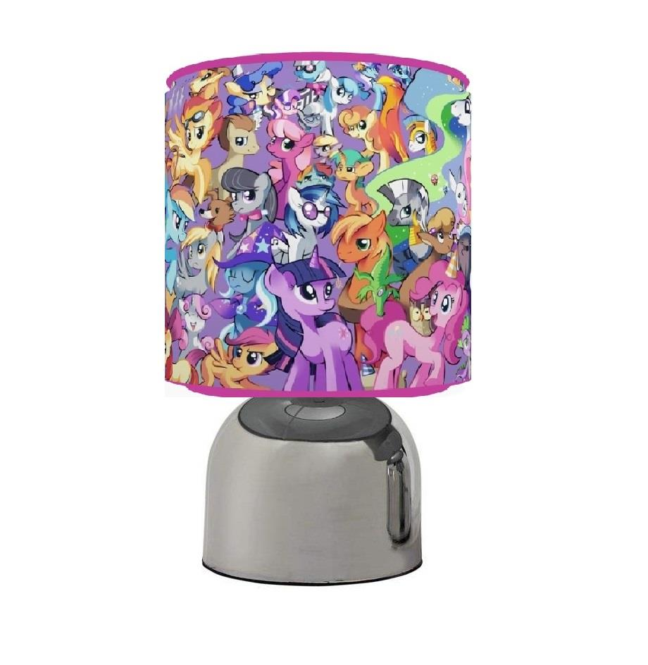 MY LITTLE PONY TOUCH TABLE BEDSIDE LAMP KIDS