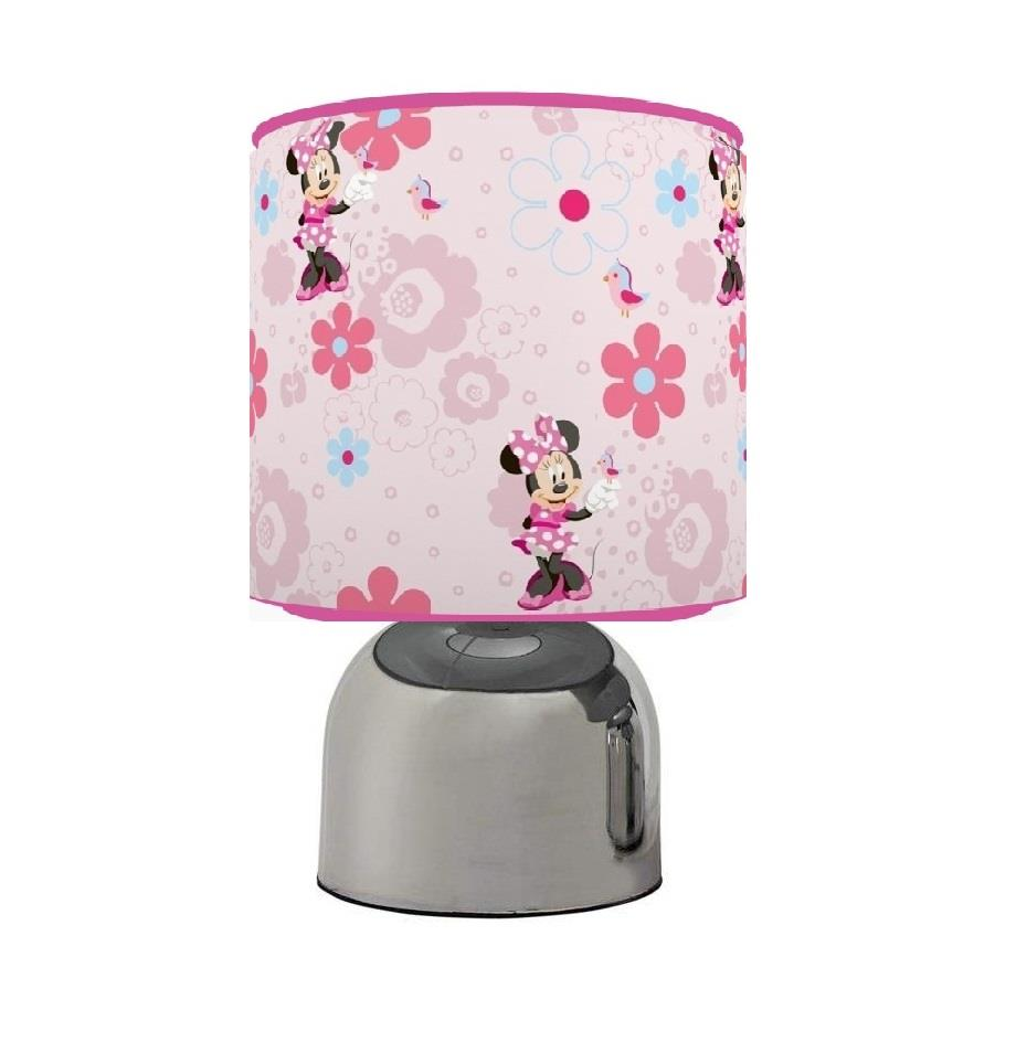 Exceptional MINNIE MOUSE TOUCH TABLE BEDSIDE LAMP KIDS ROOM