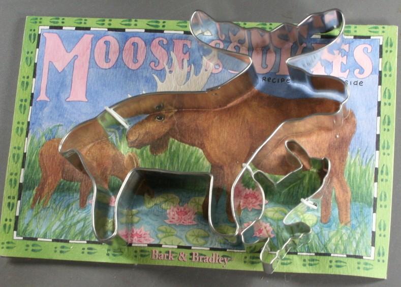 cookie cutter set, moose, Bark & Barkley, 1991