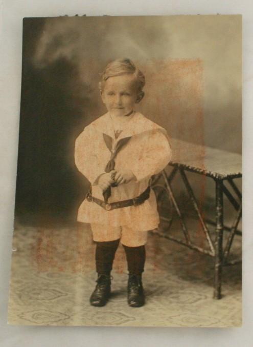 early photograph, portrait,child in sailor suit