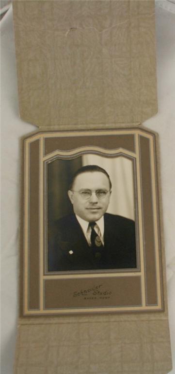 early photograph, portrait, man, folder