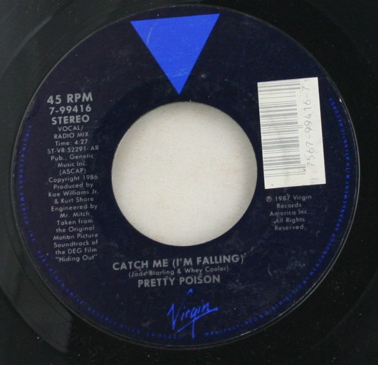 vintage 45 record, Pretty Poison, Virgin