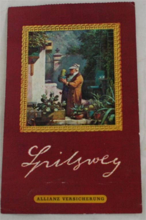 vintage postcard, Germany, Art Postcard Set, Olauf Leinwand