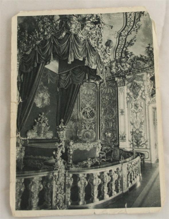 vintage postcard, Germany, Bavaria, Castle Linderhof