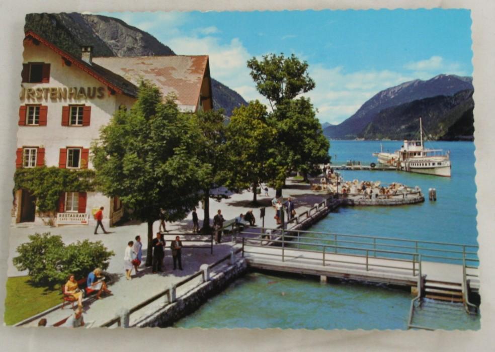 vintage postcard, Germany, Austria, Perlisau