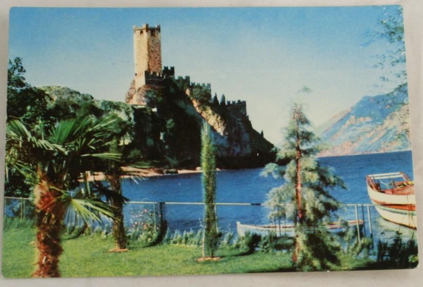 vintage postcard, Lake Garda, Lago di Garda, Italy