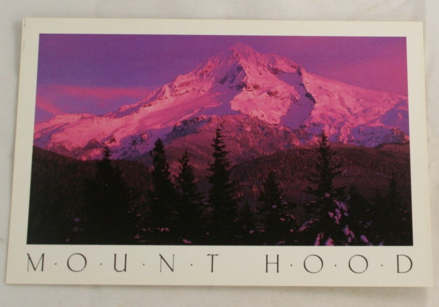 vintage postcard, Mt. Hood, Mount Hood, Oregon, OR