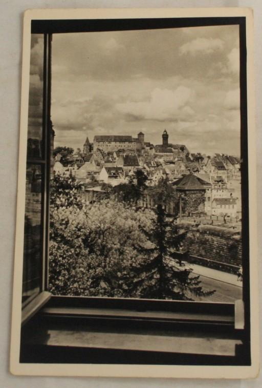 vintage postcard, Nurnberg, view of Nurnberg