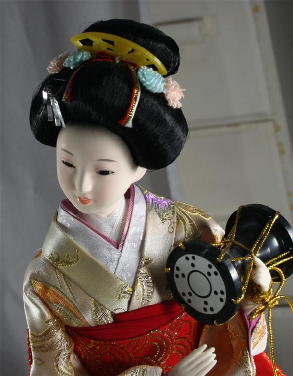 japanese art geisha. Japan Geisha Doll…