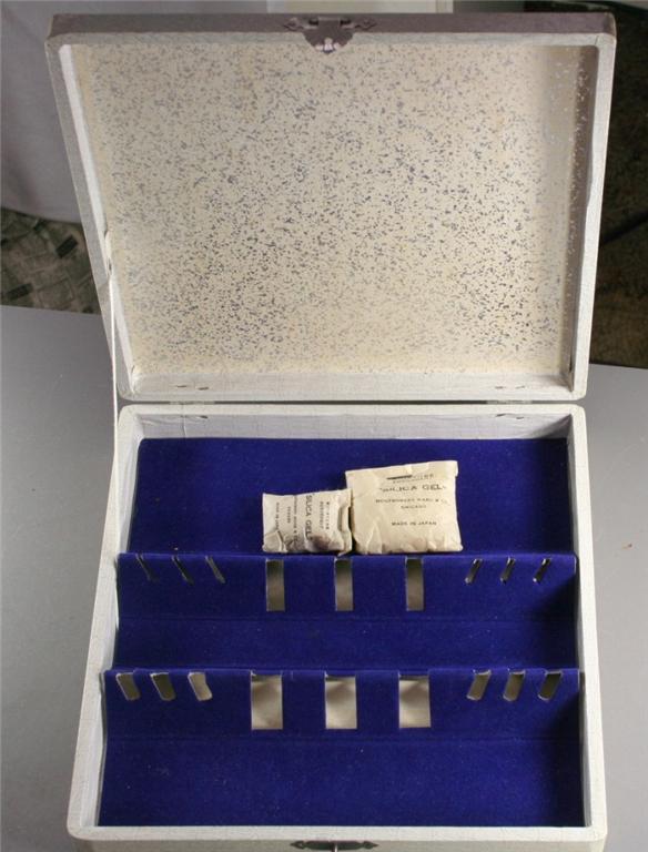 vintage flatware,box,storage,silverware