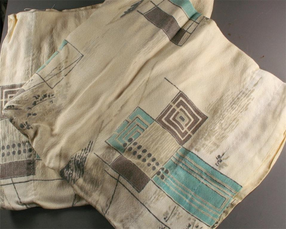 vintage fabric,curtains,barkcloth,midcentury,print