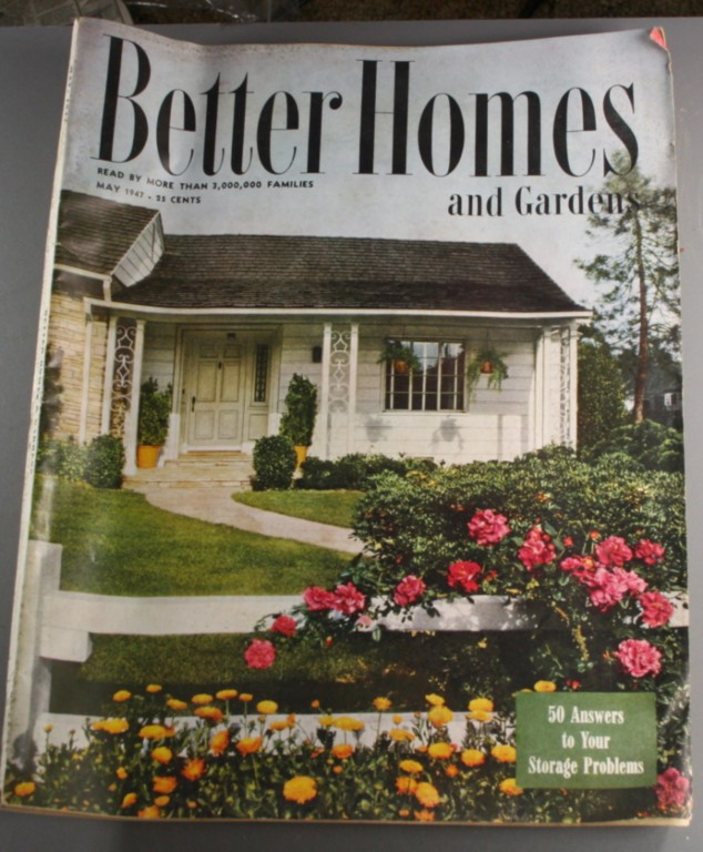 vintage magazine, Better Homes and Gardens, Better Homes & Gardens, May, 1947