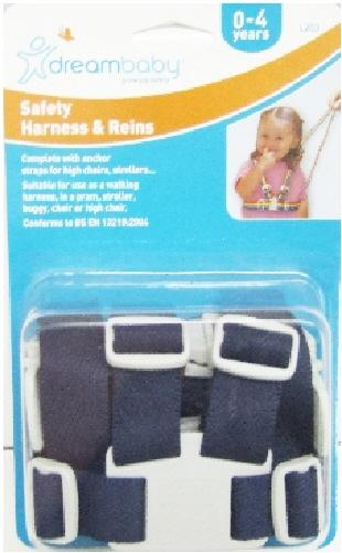 Dreambaby-Baby-Toddler-Safety-Harness-Walking-Reins-High-Chair-Stroller