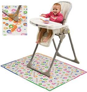 Mommy s Helper Splat Mat Baby High Chair Mess Floor