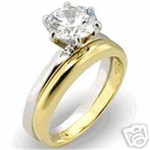 18K-GOLD-EP-2-0CT-SIMULATED-DIAMOND-WEDDING-SET-RING-7
