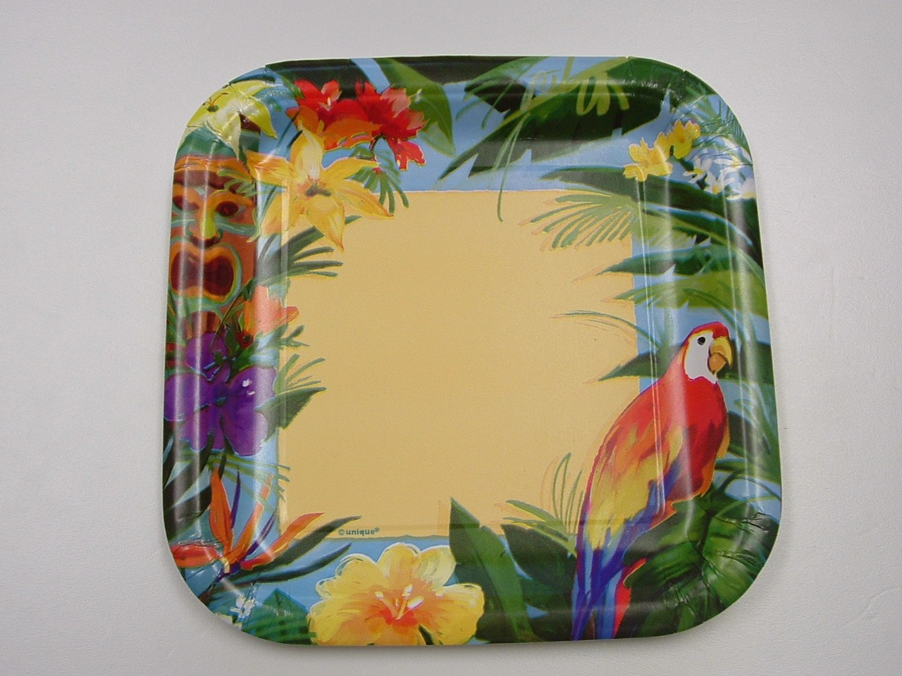 tiki tropics luau party paper plates napkins cups table cover ebay. Black Bedroom Furniture Sets. Home Design Ideas