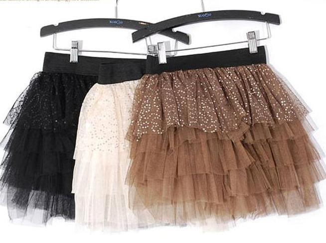 how to add glitter to tulle skirt