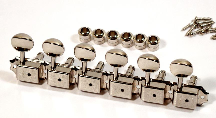 how to use gotoh vintage locking tuners