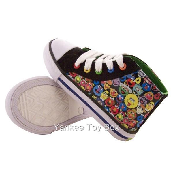 Sesame Street Chuck Taylor Toddler Boys Shoes Elmo Bert