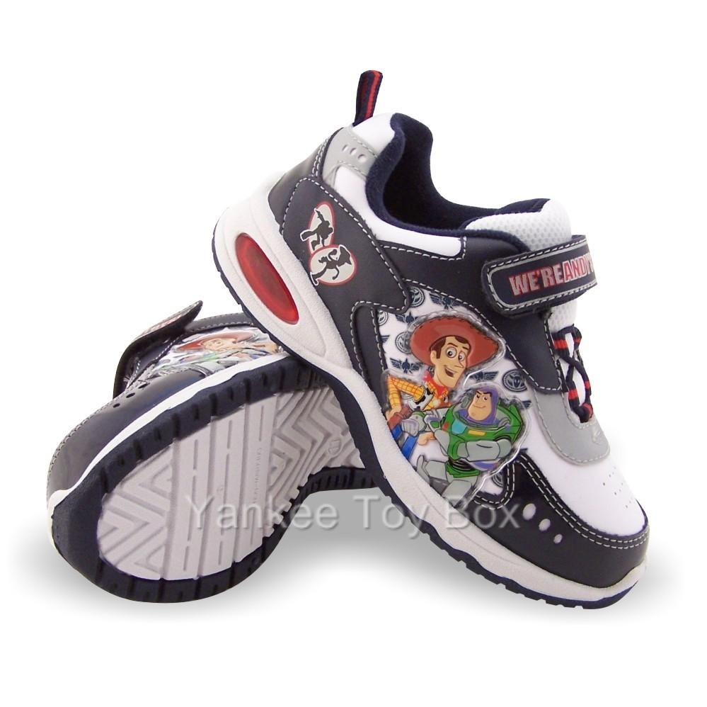 Details about TOY STORY 3 BUZZ LIGHTYEAR WOODY LIGHT-UP TODDLER SHOES