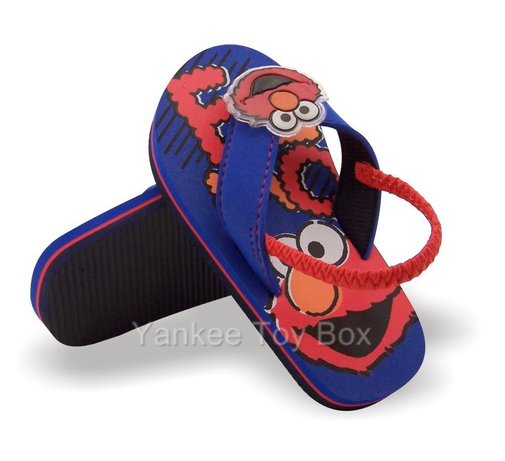 Sesame Street Elmo Toddler Flip Flops Sandals Shoes