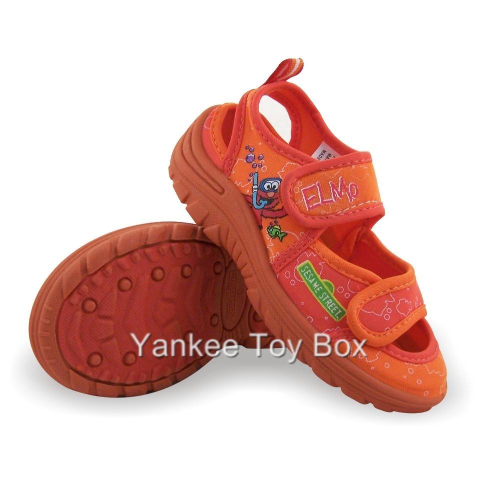 Sesame Street Elmo Toddler Beach Water Shoes Sizes