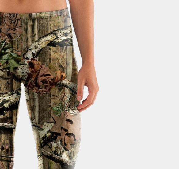 Under Armour Evo Scent Control Fitted Leggings Pants ColdGear UA Mossy Oak Sizes