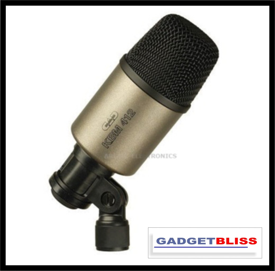 CAD-Audio-KBM412-Cardioid-Dynamic-Percusion-Bass-and-Kick-Drum-Microphone