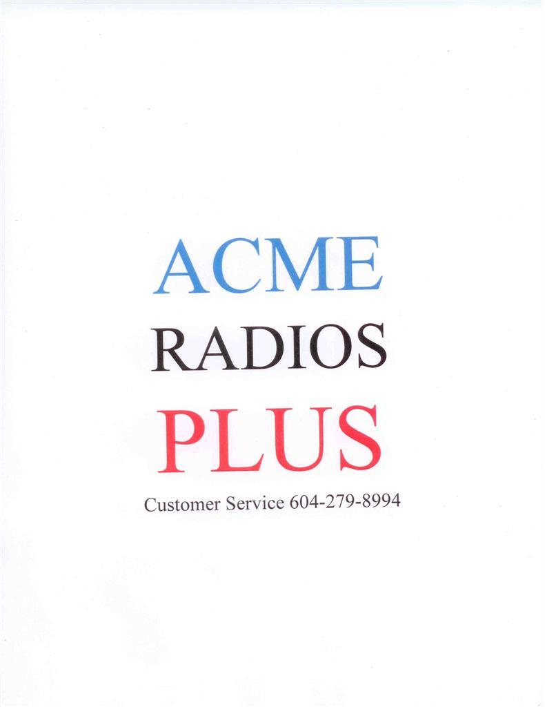 ACME RADIOS PLUS