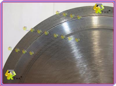 6 Quot 150mm Thk Sintered Diamond Segment Super Thin Saw Blade